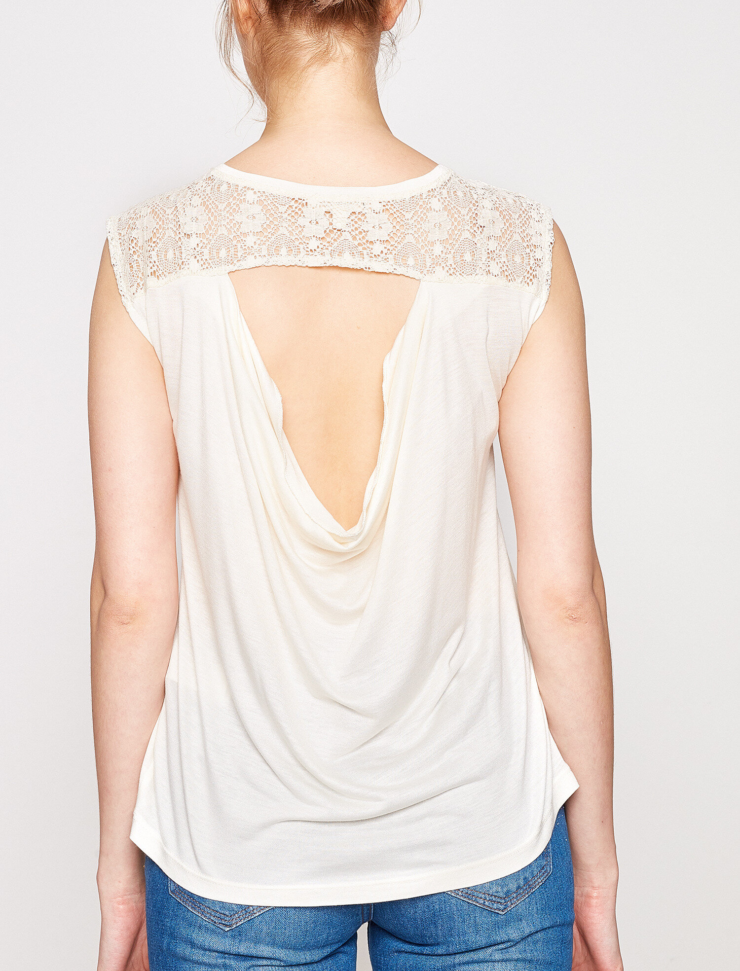 lace detailed t-shirt. pic 1; pic 2; pic 3 ...